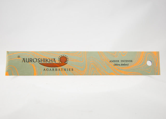 Auroshikha Amber Incense Sticks 10g