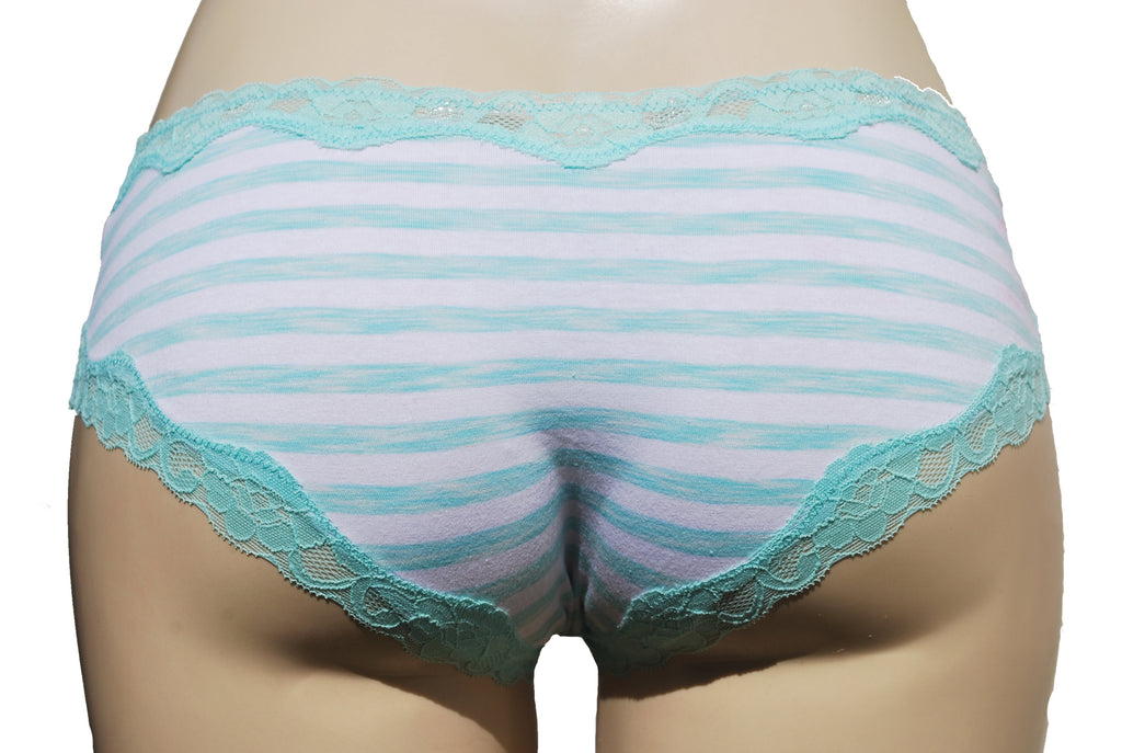Cameron — Mint and White Striped