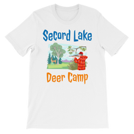 Secord Lake Deer Camp 7 short sleeve t-shirt