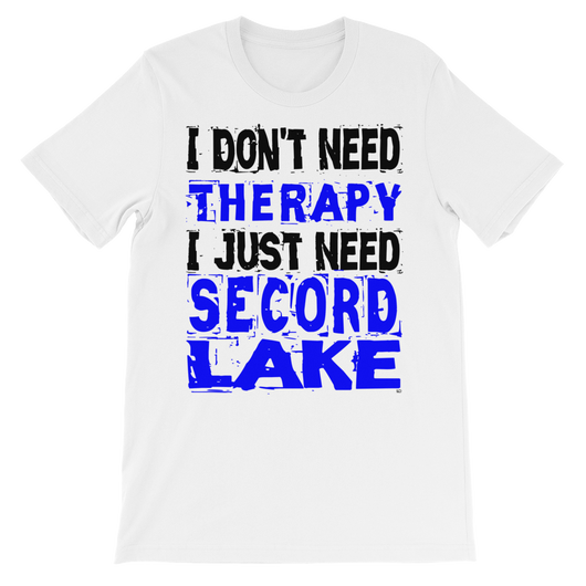 Secord Lake Therapy short sleeve t-shirt
