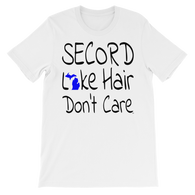 Secord Lake Hair 2 short sleeve t-shirt