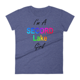Secord Lake Girl Women's short sleeve t-shirt