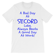 Secord Lake Day 3 short sleeve t-shirt