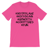 Secord Lake # short sleeve t-shirt