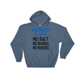 Secord Lake No Salt 2 Hooded Sweatshirt