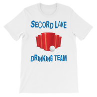 Secord Lake Drinking Team 5 short sleeve t-shirt