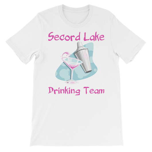 Secord Lake Drinking Team 2 short sleeve t-shirt