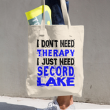 Secord Lake Therapy Cotton Tote Bag