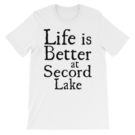 Secord Lake Better short sleeve t-shirt