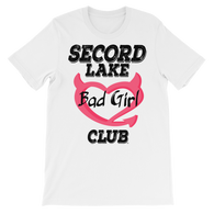 Secord Lake Bad Girls short sleeve t-shirt