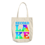 Secord Lake LAKE Cotton Tote Bag