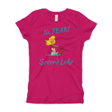 Secord Lake No Fear Girl Ski Girl's T-Shirt
