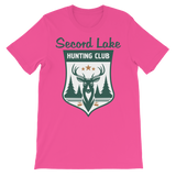 Secord Lake Hunting Club 2 short sleeve t-shirt