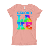 Secord Lake LAKE Girl's T-Shirt