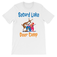 Secord Lake Deer Camp short sleeve t-shirt