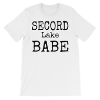 Secord Lake Babe 2 short sleeve t-shirt
