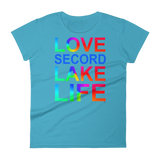 Secord Lake Love 7 Women's short sleeve t-shirt