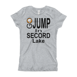 Secord Lake Go Jump Girl's T-Shirt