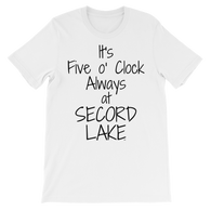 Secord Lake 5 o clock short sleeve t-shirt