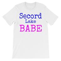 Secord Lake Babe short sleeve t-shirt