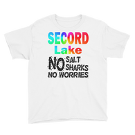 Secord Lake No Worries Youth Short Sleeve T-Shirt