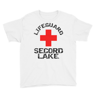 Secord Lake Life Guard Youth Short Sleeve T-Shirt