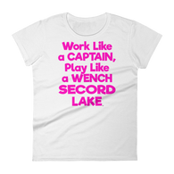 Secord Lake Wench Pink Women's short sleeve t-shirt