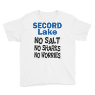 Secord Lake No Salt Youth Short Sleeve T-Shirt