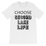 Secord Lake Choose short sleeve t-shirt