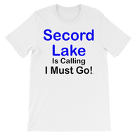 Secord Lake Calling 2 short sleeve t-shirt
