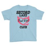 Secord Lake Bad Girl Youth Short Sleeve T-Shirt