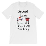 Secord Lake All Year short sleeve t-shirt
