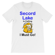 Secord Lake Calling short sleeve t-shirt