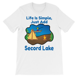 Secord Lake Simple Life short sleeve t-shirt