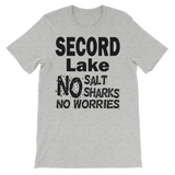 Secord Lake No Salt short sleeve t-shirt