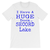 Secord Lake Dock short sleeve t-shirt