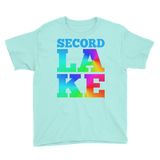 Secord Lake LAKE Youth Short Sleeve T-Shirt