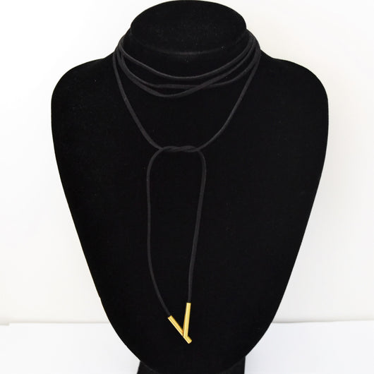 Dexta Wrap Necklace