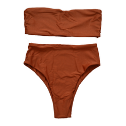 Bahamas Bikini Set in Burnt Orange