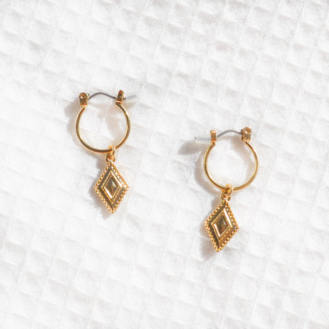 Gold Sofia Hoops