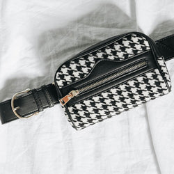 Velour Belt Bag