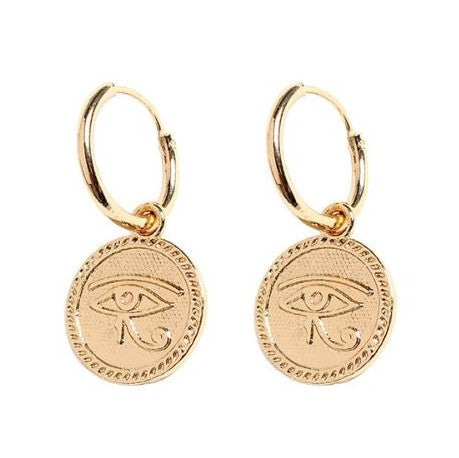 Eye of Horus Hoops