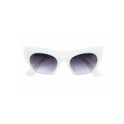 Adele Sunglasses in White