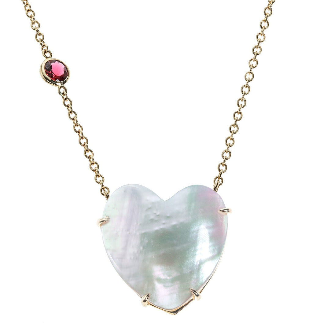 Limited Edition Mother of Pearl Shell Heart Necklace