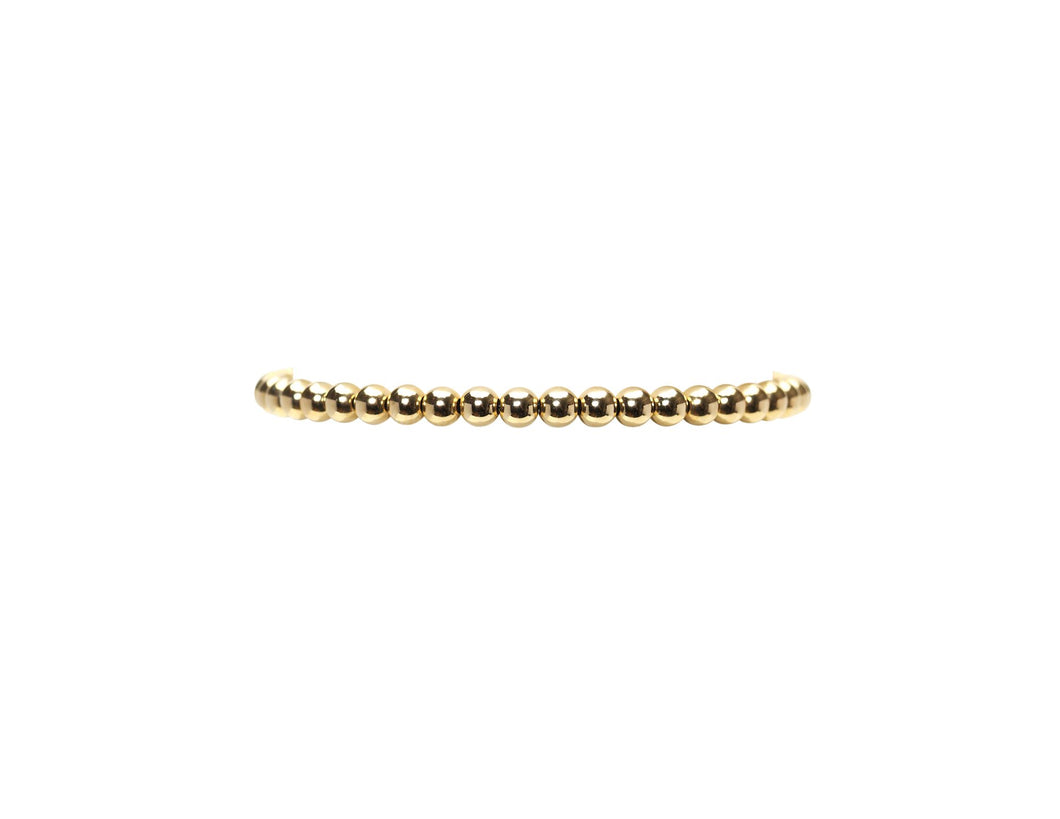 4mm Gold Filled Bracelet