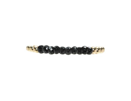 5mm Yellow Gold Bracelet with Spinel