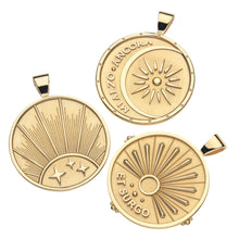 STRONG JW ORIGINAL PENDANT COIN (RISING SUN)