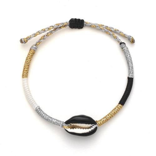 Black Candy Shell Bracelet