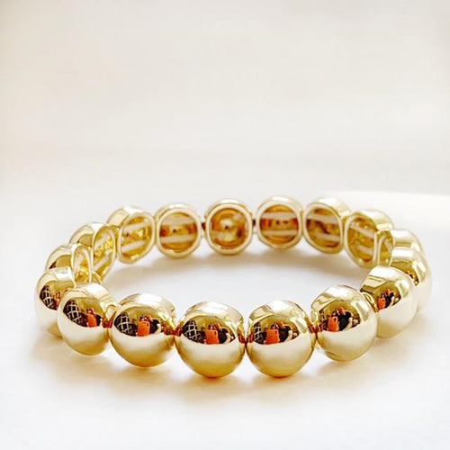 Bubble Bracelet Gold