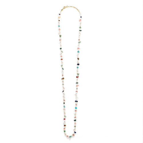 Biarritz Necklace White Shell